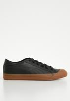 PUMA - Capri Leather - Puma Black-Gum-Gum