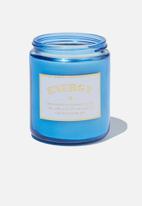 Typo - Aura candle - blue