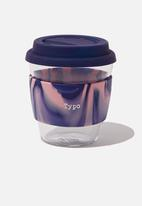 Typo - Give a sip pink swirl cup - 250ml