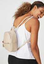 Typo - Mini cairo backpack - neutral