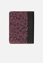 Typo - Tablet leopard print compendium - multi