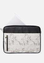 Typo - Take charge 15 inch laptop cover - black & white