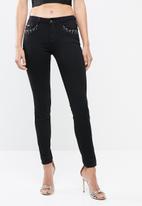Sissy Boy - Haze skinny jeans - black