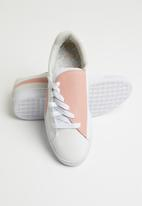 PUMA - Basket crush paris wn's - peach beige & puma white