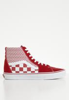 Vans - Sk8-Hi - chili pepper/true white
