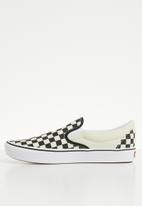 Vans - UA ComfyCush slip-on - checkerboard/true white