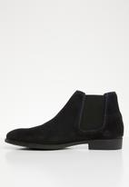Jack & Jones - Cheshire suede boots - navy