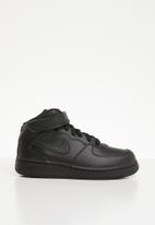Nike - Nike air force 1 mid sneaker - black