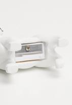 Typo - Resin frenchie sharpener - black & white