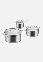 SCANPAN - Impact 3pc cookware set