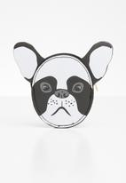Typo - Novelty frenchie coin purse - multi