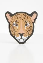 Typo - Novelty leopard coin purse - multi