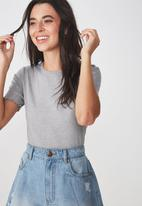 Cotton On - The sister short sleeve tee - grey