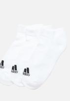 adidas Originals - 3 Stripes adidas socks 3 pack - white & black