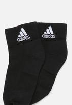 adidas Originals - 3 Stripes adidas socks 1 pack - white & black
