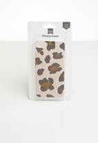 Typo - Transparent iphone cover 6,7,8 - beige