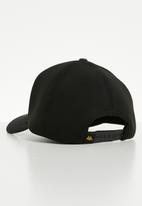 KAPPA - Tofane authentic snapback cap - black