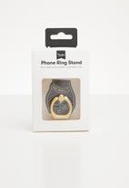 Typo - Phone rings - black & gold