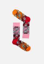 Happy Socks - Rolling stones ruby tuesday sock - multi