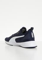 PUMA - Flyer runner -  peacoat - puma white