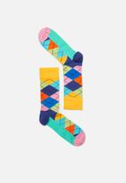 Happy Socks - Argyle sock - multi
