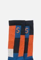 Sexy Socks - Tiles active socks - multi