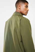 Superbalist - Plain mac coat - khaki