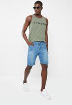 Volcom - Euro pencil vest - green
