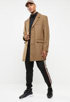 Superbalist - Plain overcoat - brown