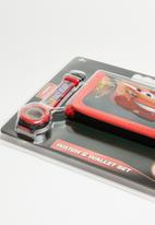 Character Fashion - Cars wallet & watch set - multi
