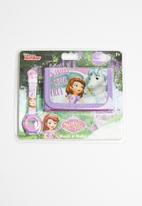 Character Fashion - Sofia the first wallet & watch set - multi