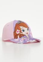 Character Fashion - Sofia the first peak cap - purple