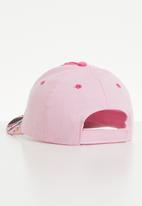 Character Fashion - Minnie mouse peak cap - pink