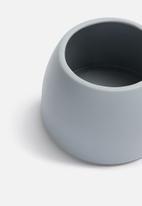 Grey Gardens - Dome vase - grey