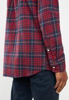 Cotton On - Check rugged long sleeve shirt - multi