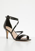 936fa28b496e Onalinia faux leather strappy stiletto heel - black patent ALDO ...