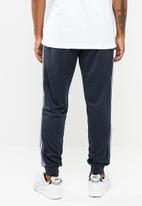 Cotton On - Slim tricot ribbed tape track jogger - navy