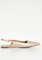 Jada - Slingback pumps - rose gold