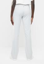 edit - Straight cut trousers - pale grey