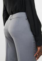 edit - Straight cut trousers - charcoal