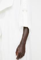 edit - Waterfall jacket - ivory