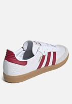 adidas Originals - Samba OG - ftwr white/collegiate burgundy/GREY ONE F17