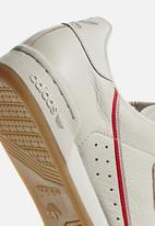 adidas Originals - Continental 80 - clear brown/scarlet/ECRU TINT S18