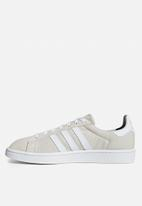 adidas Originals - Campus - clear brown/ftwr white/crystal white