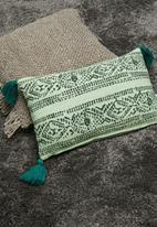 Sixth Floor - Zelena cushion cover - turquoise
