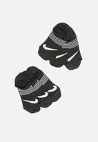 Nike - Nike performance lightweight 3-pack socks - black