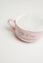 Typo - Big mug bowl - all day breakfast