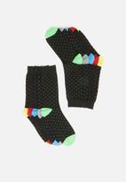 Brave Soul - Brave soul polkadot socks 5pk - black