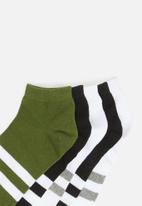 Brave Soul - Runner cotton socks - multi