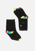 Brave Soul - Brave soul skull socks - black
